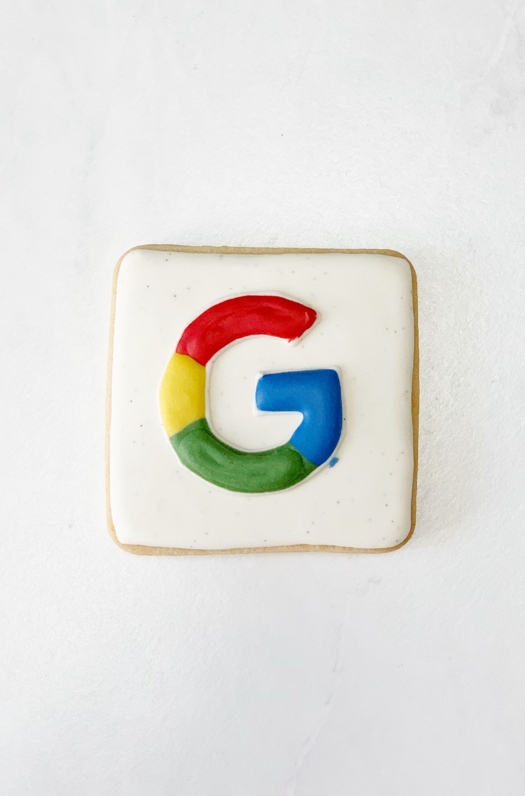 Google Logo on a Cookie - Gold River, CA, USA